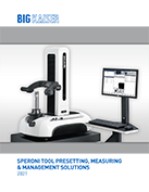 SPERONI Tool Presetting & Management 2021