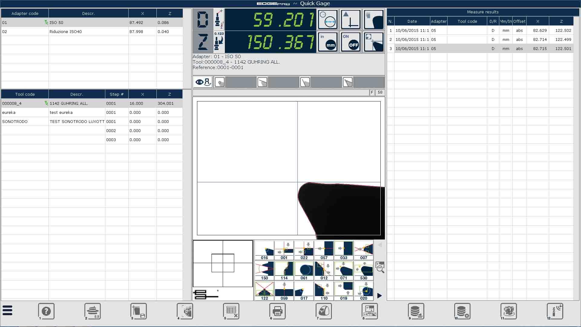 Edge Pro Automatic Edge Detection screen capture.