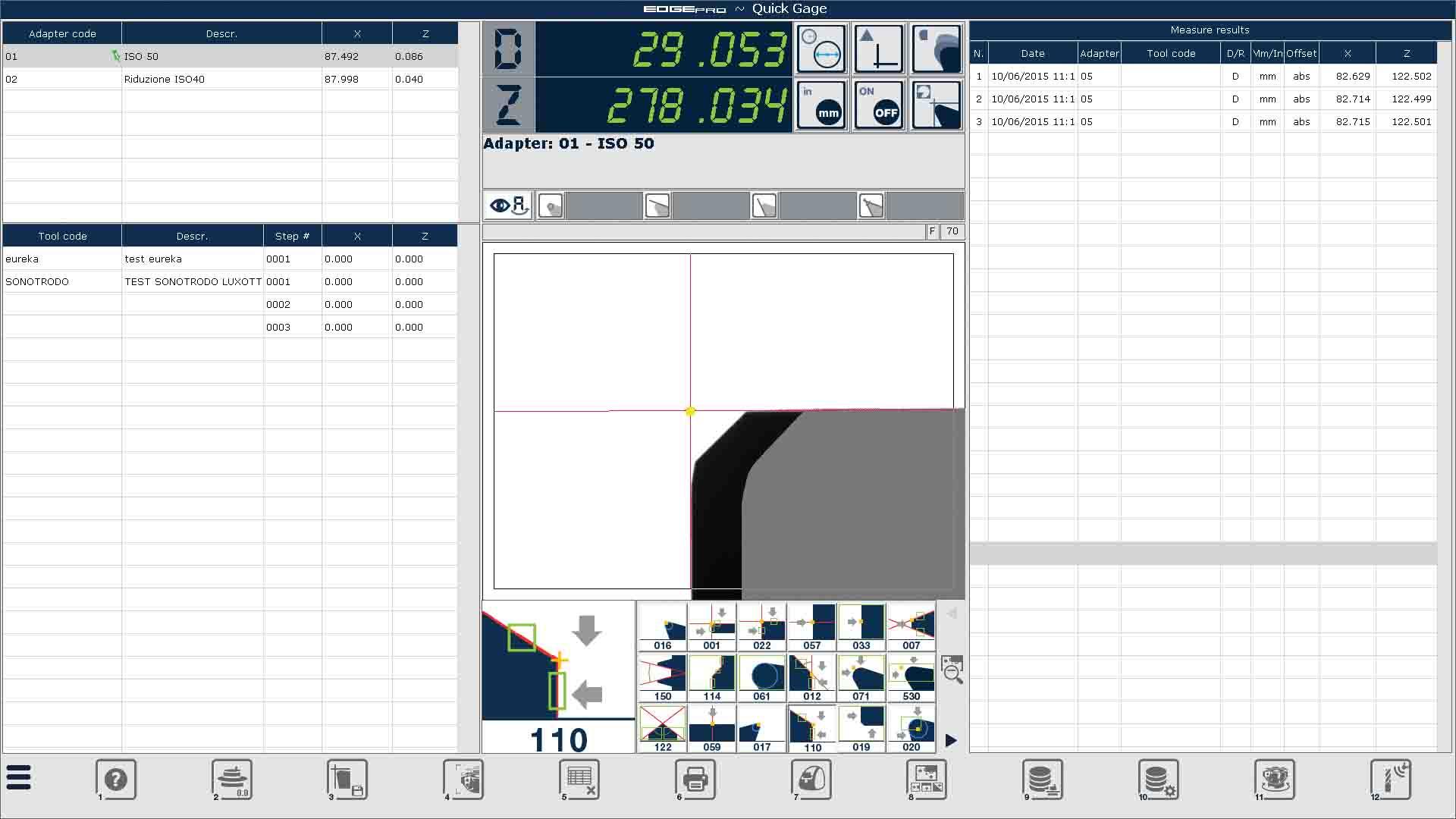 Edge Pro Step Tools screen capture.