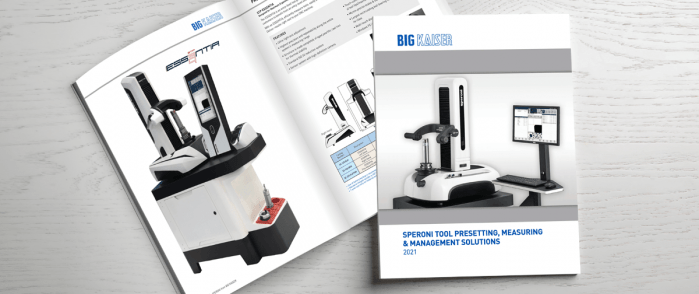 New BIG KAISER SPERONI Tool Presetting & Management catalog.