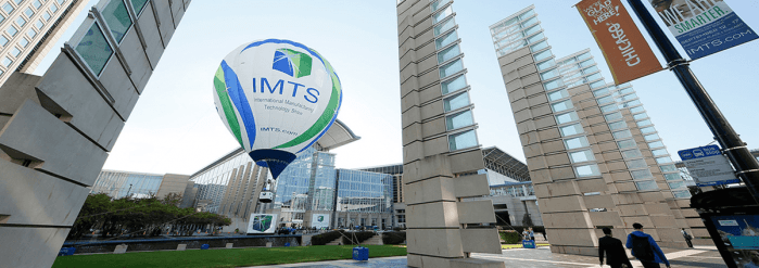 IMTS hot air balloon in Chicago.