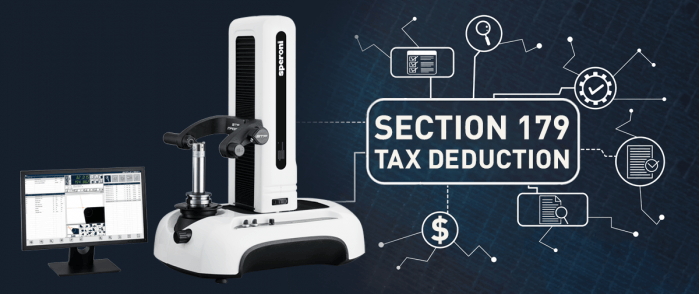 SPERONI Tool Presetter Section 179 Tax Deduction
