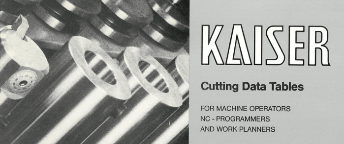 Kaiser. Cutting Data Tables.
